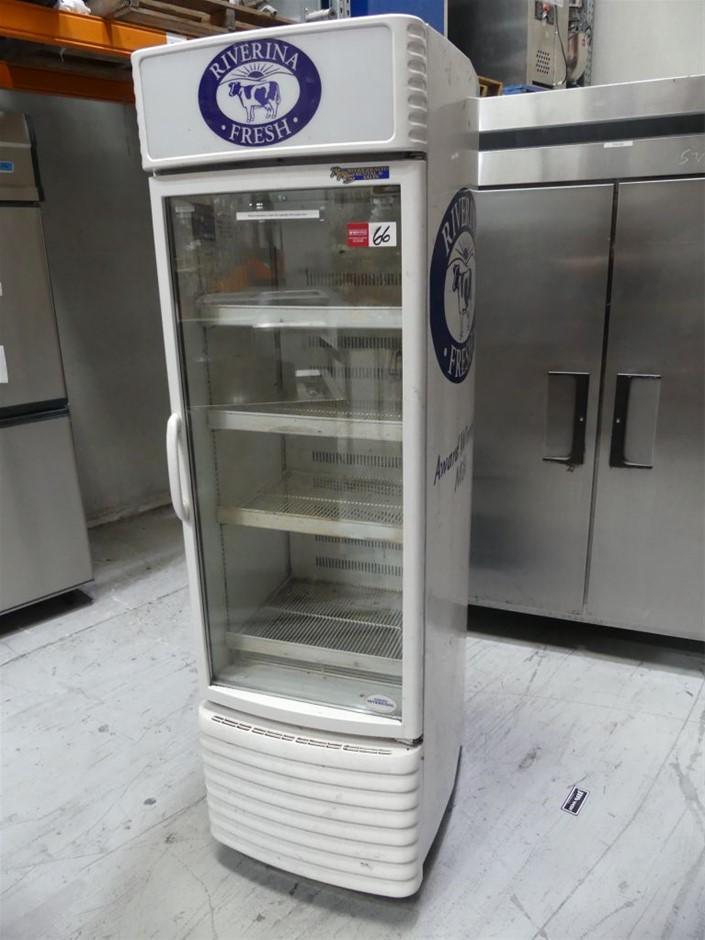 SCC-300RCX Single Door Mobile Display Refrigerator