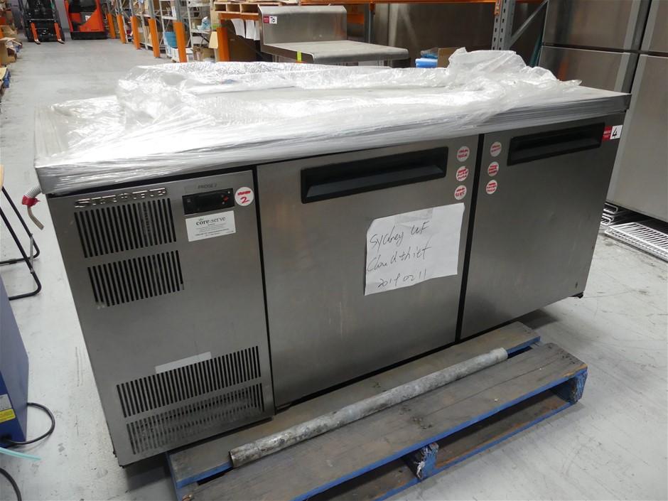 SKOPE 2 Door Underbench Self-contained Refrigerator
