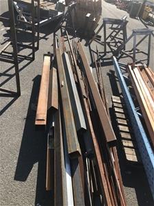 Pallet of Scrap Steel