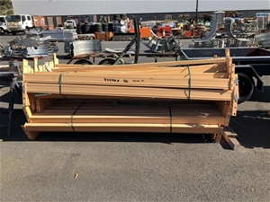 Quantity of Assorted Pallet Racking Beam