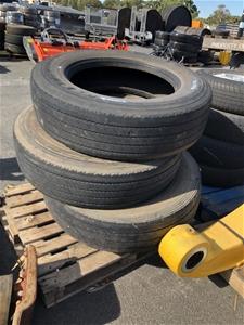 Pallet of Truck Tyres