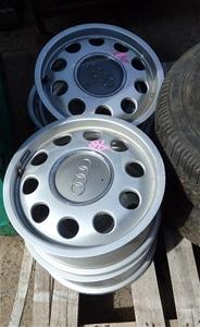 4x Audi Alloy Tyre Rims