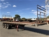 1998 Freighter ST3XM Triaxle Flat Top Trailer