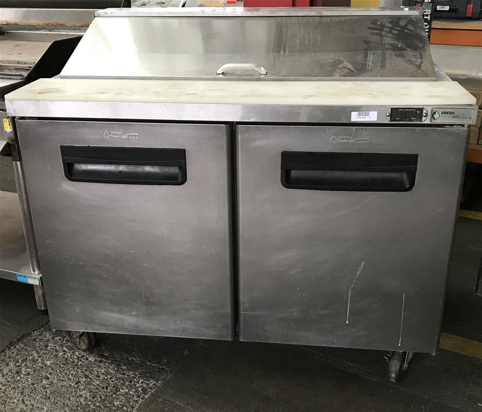 Greenline GLSA2D12 368 litre Food preparation refrigerator mobile