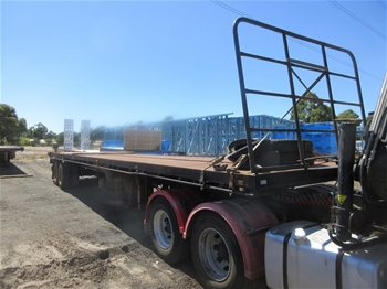 2004 Bailey`s Tandem Axle 45` Tipping Trailer
