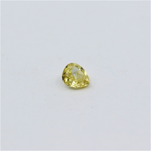 0.09 ct Fancy Yellow Diamond