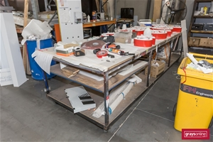 3 x Assorted Mobile Work Benches