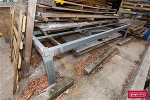 Heavy Duty Fabricated Table Base Frame