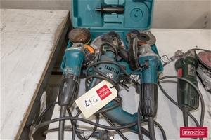 Qty 3 x Makita Assorted Power Tool