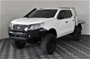 2017 Nissan Navara 4X4 SL SERIES 2 Turbo Diesel Automatic Dual Cab