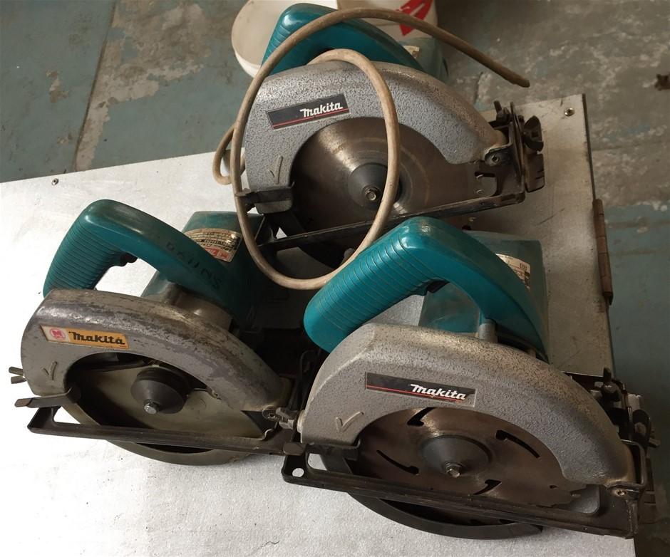 3X Makita Circular Saws 240v
