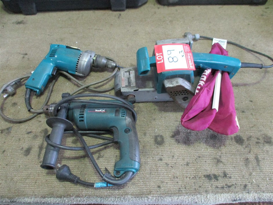 Qty 3 x Makita Power Tools