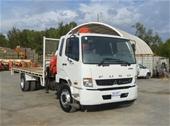 Unreserved - 2014 Mitsubishi Fuso Fighter 1627 Crane Truck