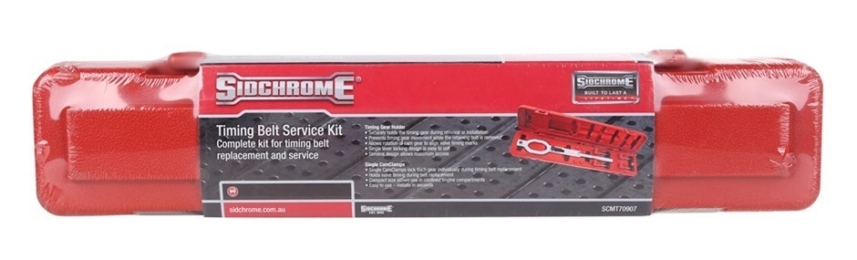 SIDCHROME Complete Timing Belt Service Kit. Buyers Note - Discount Freight
