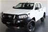 2016 Toyota Hilux Workmate (4x4) GUN125R Turbo Diesel Automatic Dual Cab