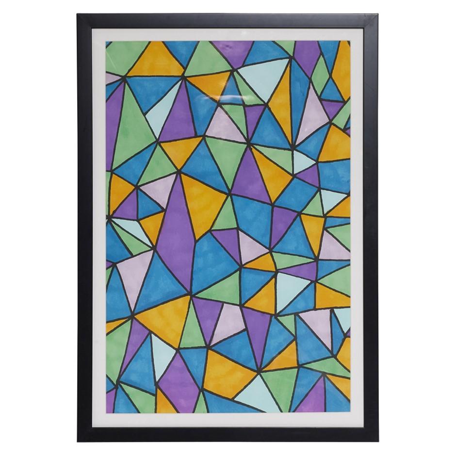 ORIGINAL Avril GilmoreCathedralFramed Print Black Frame