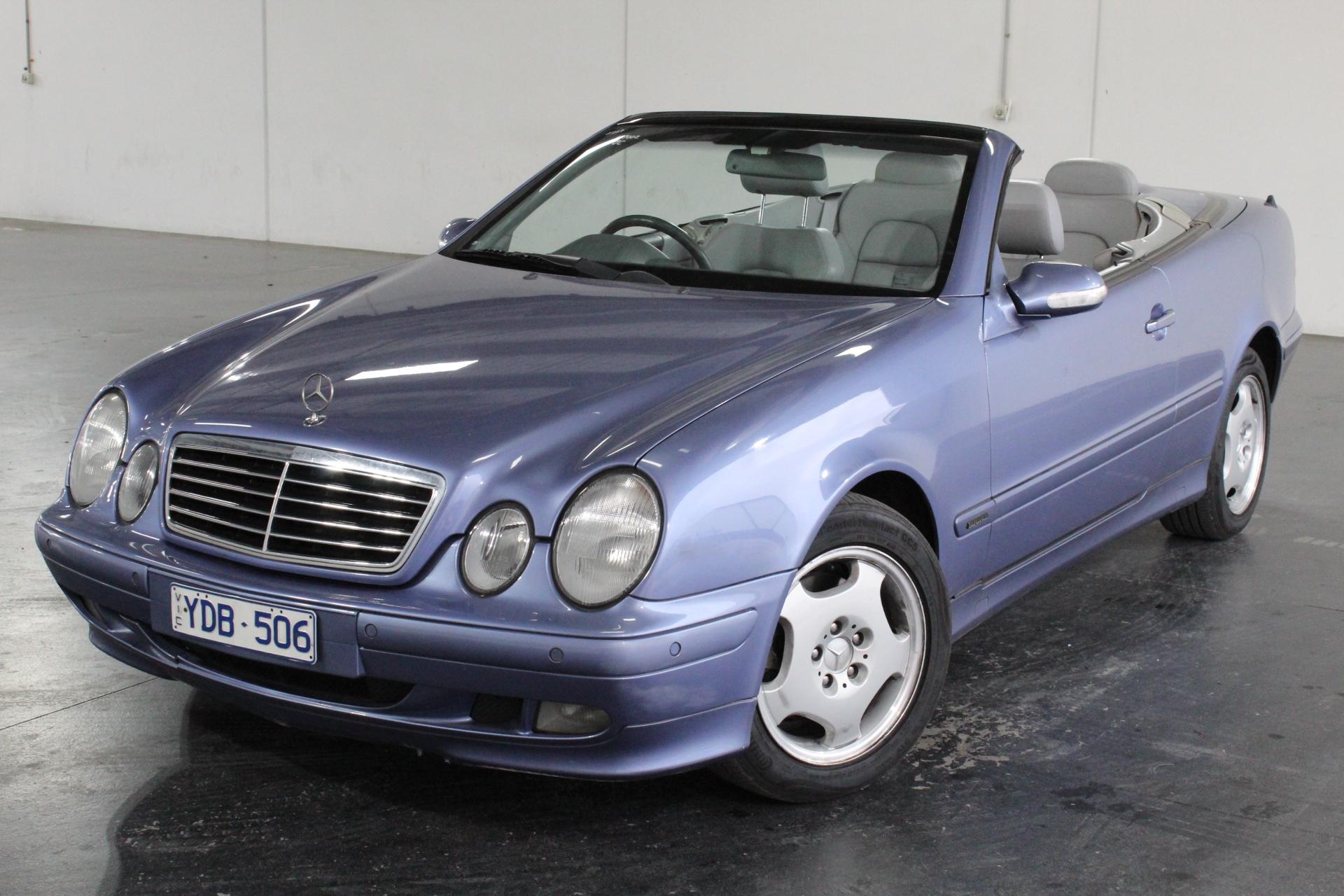 2000 Mercedes Benz CLK320 Elegance A208 Automatic Convertible