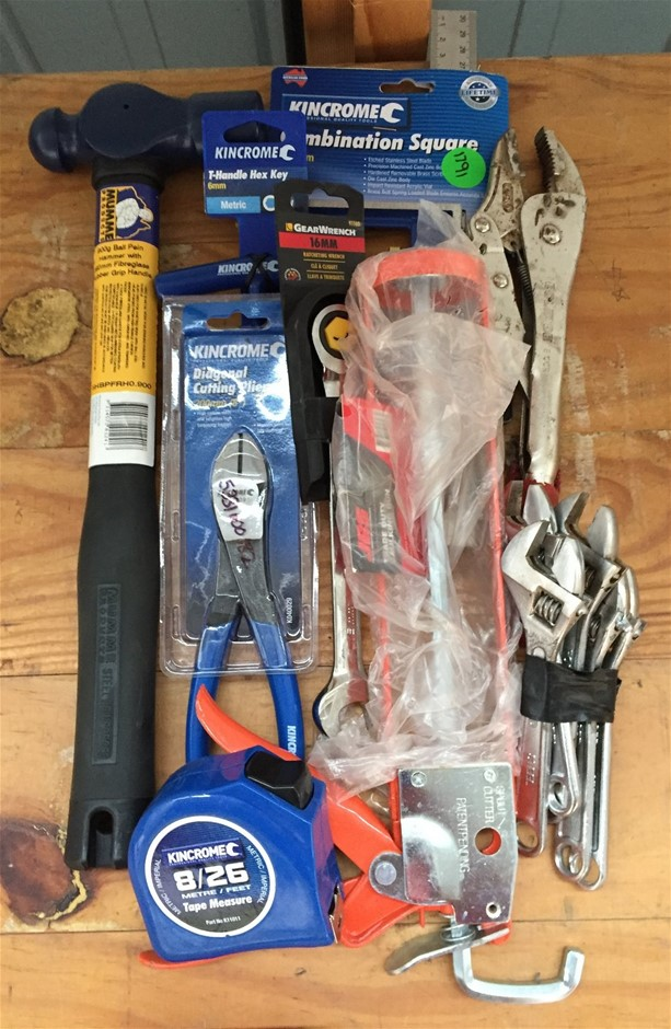 Assortment of New & Used Hand Tools