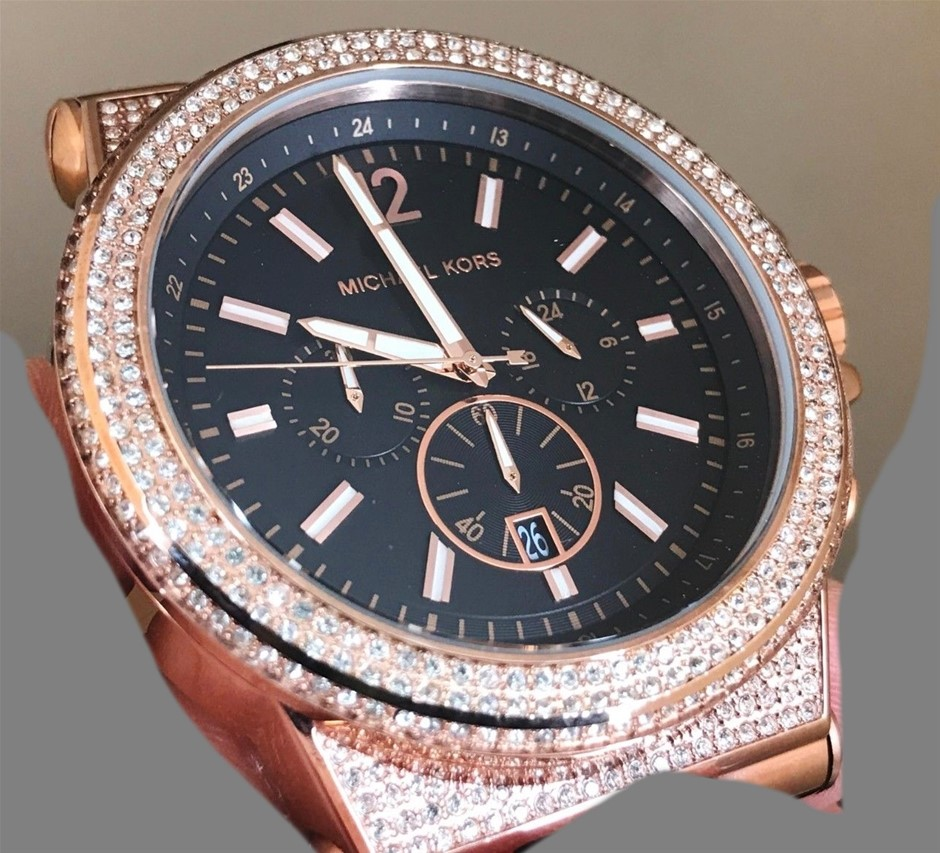 New Sophisticated Michael Kors Ny Couture 'Dylan' Watch
