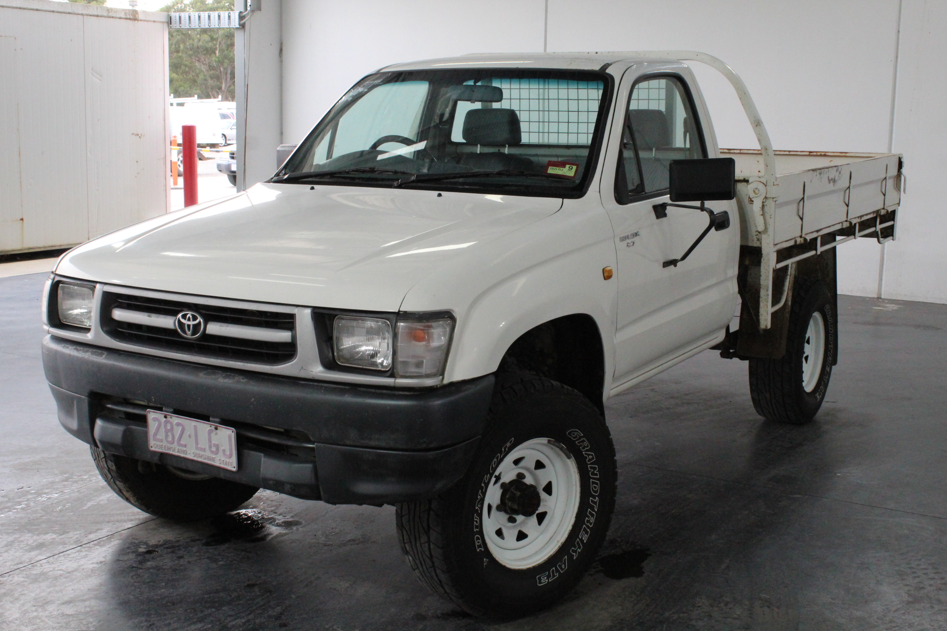 1997 Toyota Hilux (4x4) Manual Cab Chassis