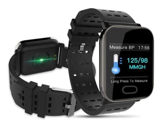 Pulse V90 Smart Watch Black