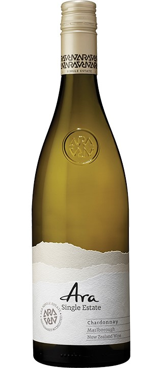 Ara Single Estate Chardonnay 2019 (6x 750ml). NZ