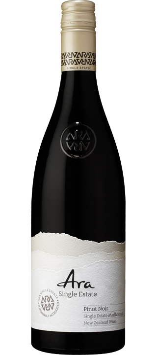 Ara Single Estate Pinot Noir 2019 (6x 750ml). Marlborough, NZ