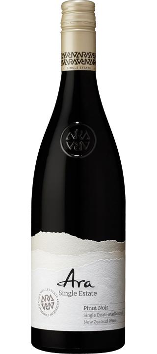 Ara Single Estate Pinot Noir 2019 (6x 750ml). Marlborough, NZ