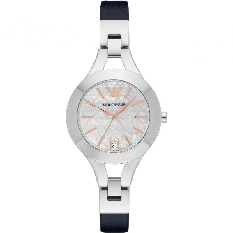 Classy New Emporio Armarni Mother Of Pearl Watch.