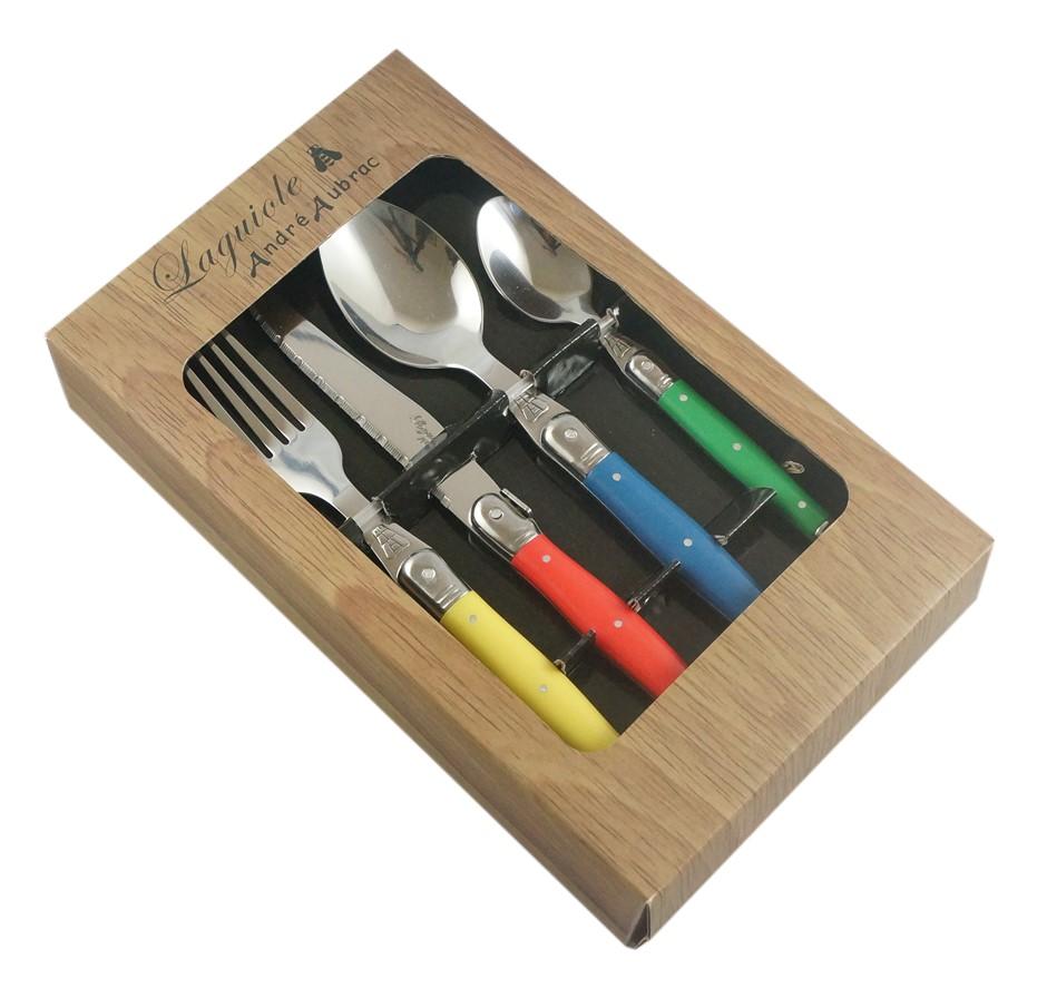 Laguiole by Andre Aubrac 16-piece Cutlery Set - Multi-colour