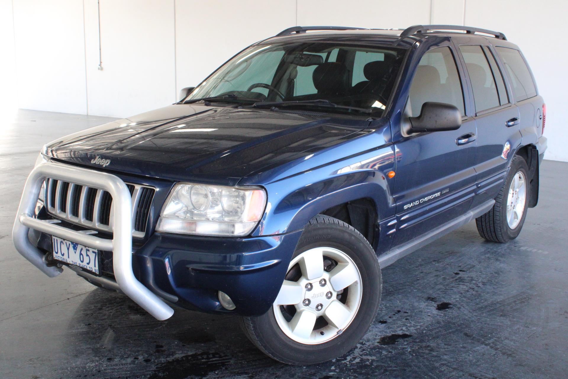 2004 Jeep Grand Cherokee Limited (4x4) WG Automatic Wagon