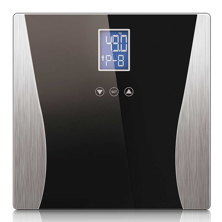 SOGA Digital Body Fat Scale Black