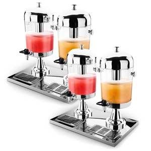 SOGA 2X Dual 8L Juicer Water Milk Coffee