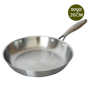 SOGA S/S Fry Pan 26cm Frying Pan Top Gra