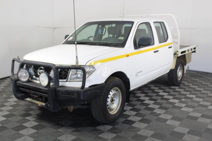 2012 Nissan Navara RX (4X4) D40 Turbo Diesel Manual Dual Cab