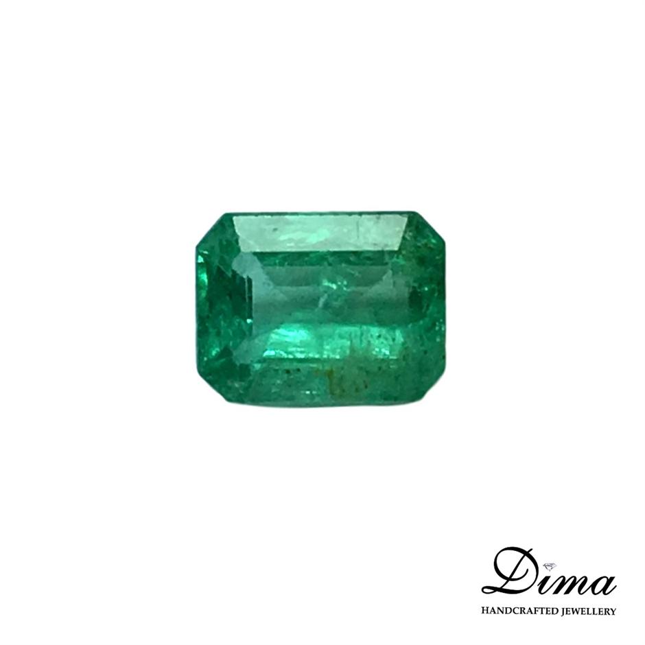 One Stone Emerald Cut, 0.48ct in Total