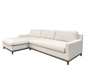 Twilight 3 Seater White Colour Sofa With