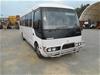 2001 Mitsubishi Rosa DELUXE Intercooler RWD 24 seater Bus 76,977km