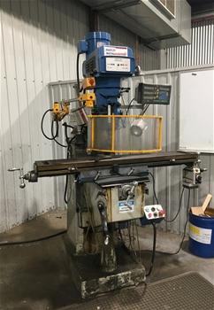 Milling Machine, Hafco BM40V, 2003, X-Y-Z axis