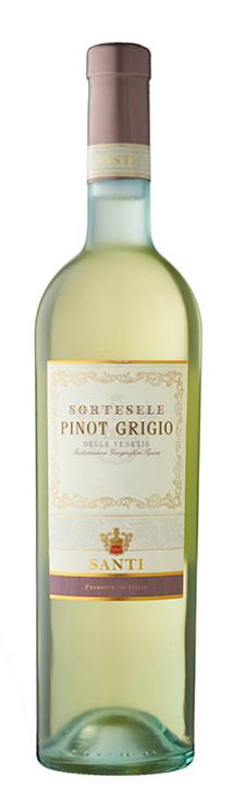Santi Sortesele Pinot Grigio 2018 (6x 750mL), Italy