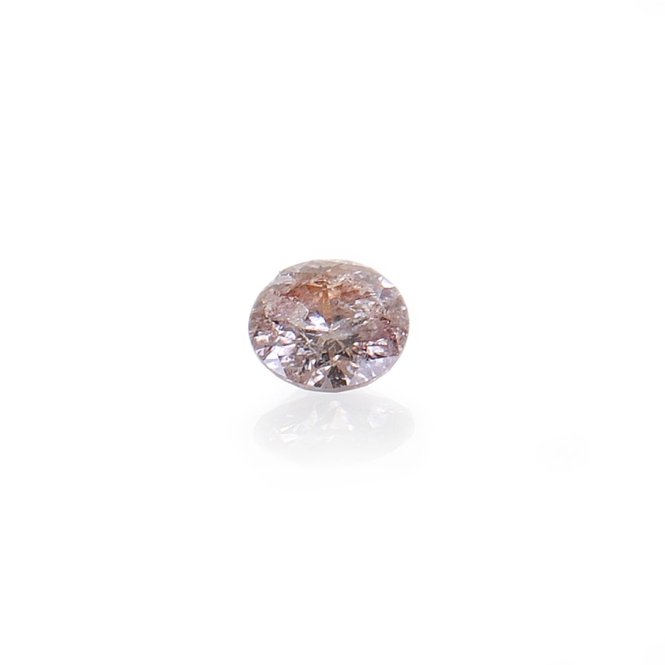 0.01ct Light Pink Diamond