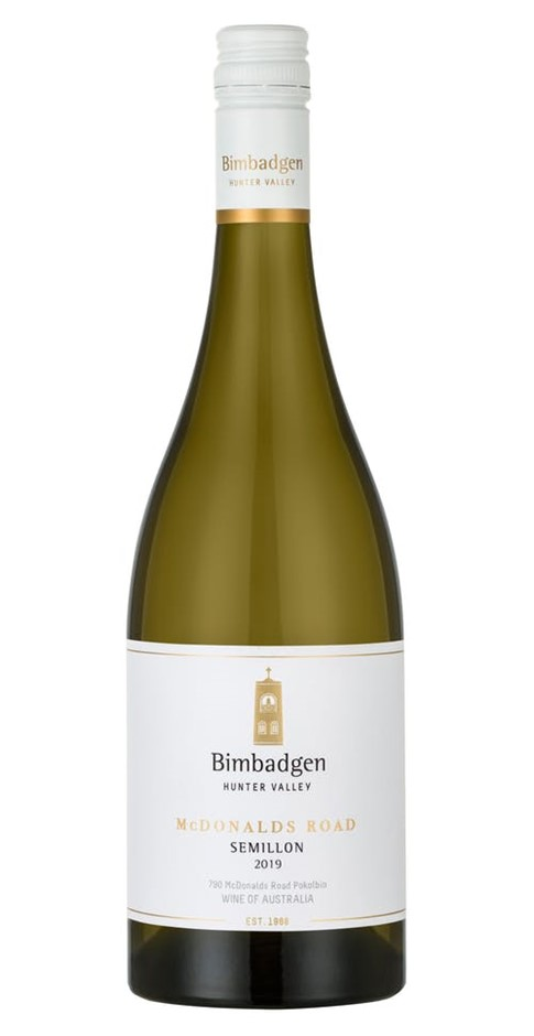 Bimbadgen SV Semillon McDonalds Road 2018 (6x 750mL). Hunter Valley