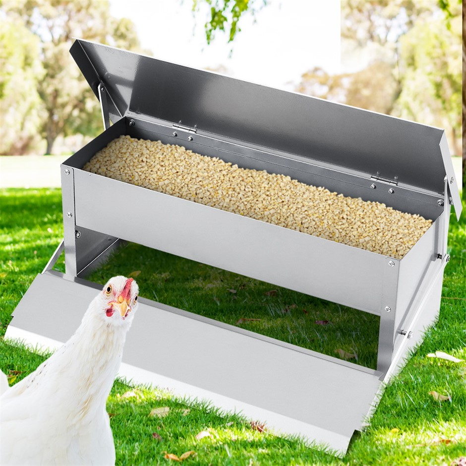 Giantz Auto Chicken Feeder Automatic Chook Poultry Opening Coop