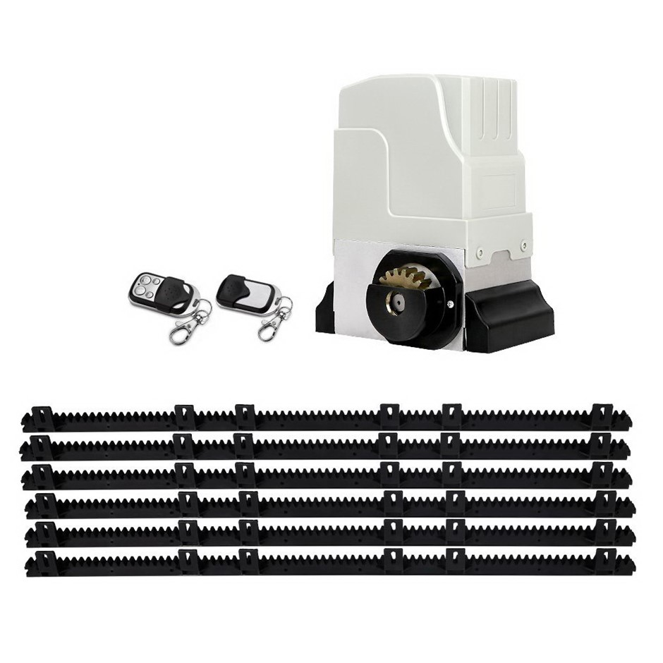 Giantz Latest 1800KG Electric Sliding Gate Opener Remote 6M Rail Kit