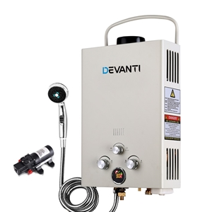 Devanti Outdoor Gas Hot Water Heater Por