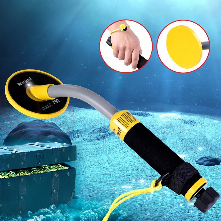 Waterproof Metal Detector 30M Underwater Pinpointer Deep Sensitive Digger