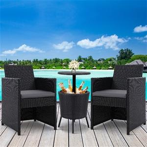 Gardeon Outdoor Furniture Wicker Chairs