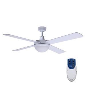 """Devanti 52"""" Ceiling Fan - White"""