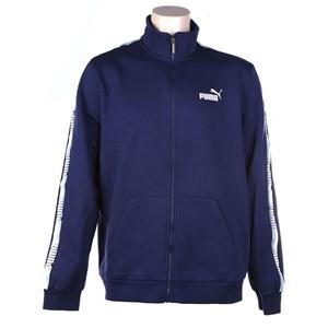 PUMA Men`s Tape Fleece Jacket, Size L, C
