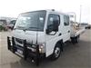 <p>2013 Mitsubishi Canter Fuso Tray Body Truck</p>